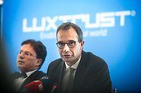 Présentation d'une étape majeure dans le développement à l'international de LuxTrust.Pascal Rogiest,Luxtrust.Foto:Gerry Huberty