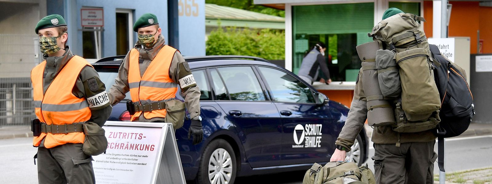 In Österreich werden Soldaten im Kampf gegen das Corona-Virus eingesetzt.