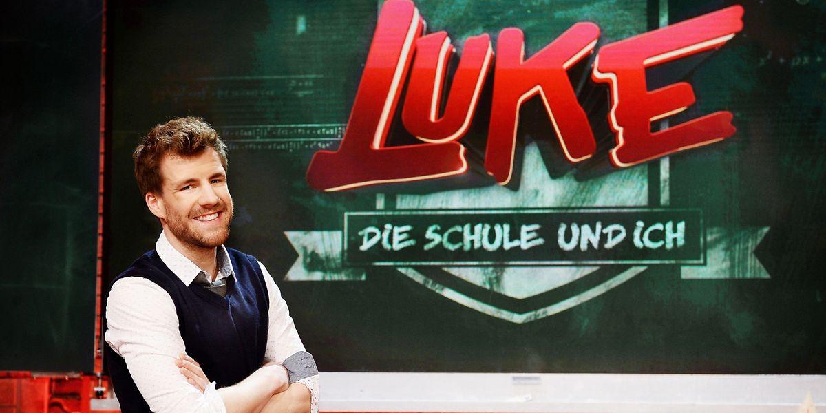 In der neuen Show von Luke Mockridge treten Schüler gegen prominente Erwachsene an.