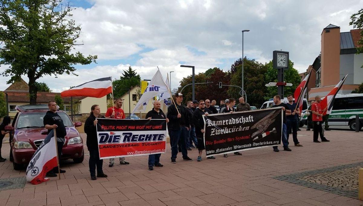 Hat ein Nachwuchsproblem: Der Nationale Widerstand Zweibrücken.