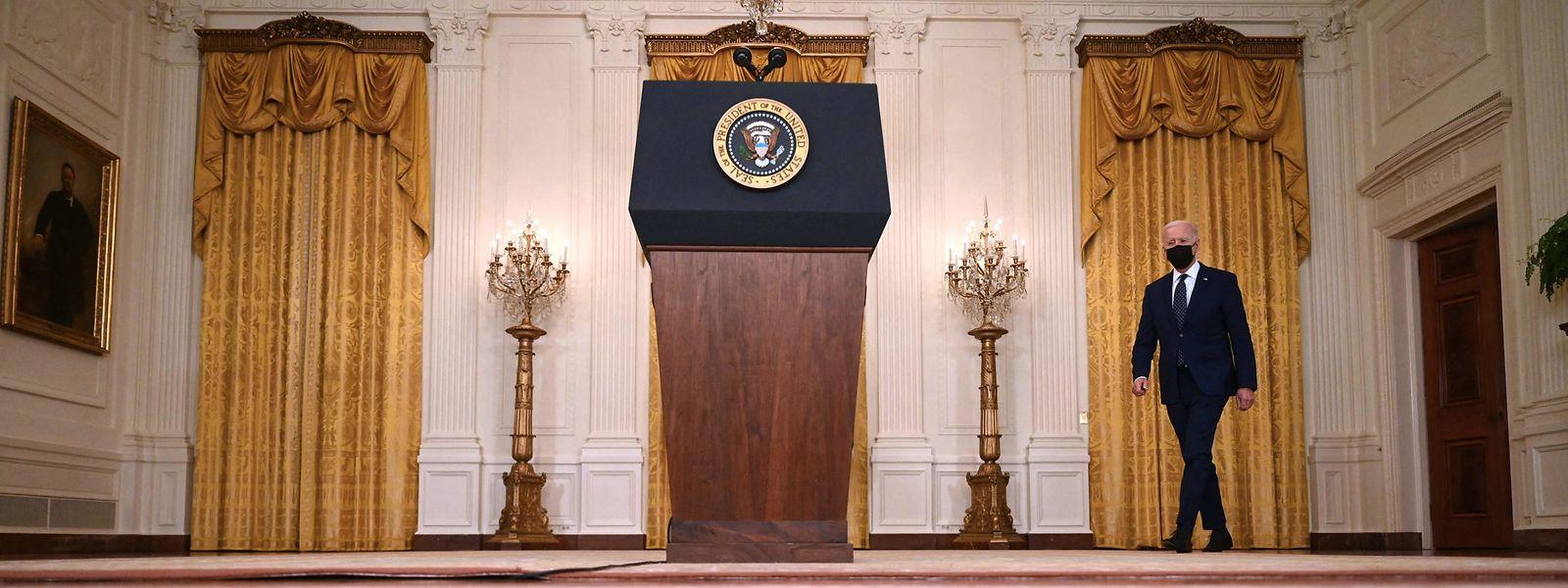 """US-Präsident Joe Bide habe sich dazu entschlossen, """"verhältnismäßig"""" zu reagieren."""