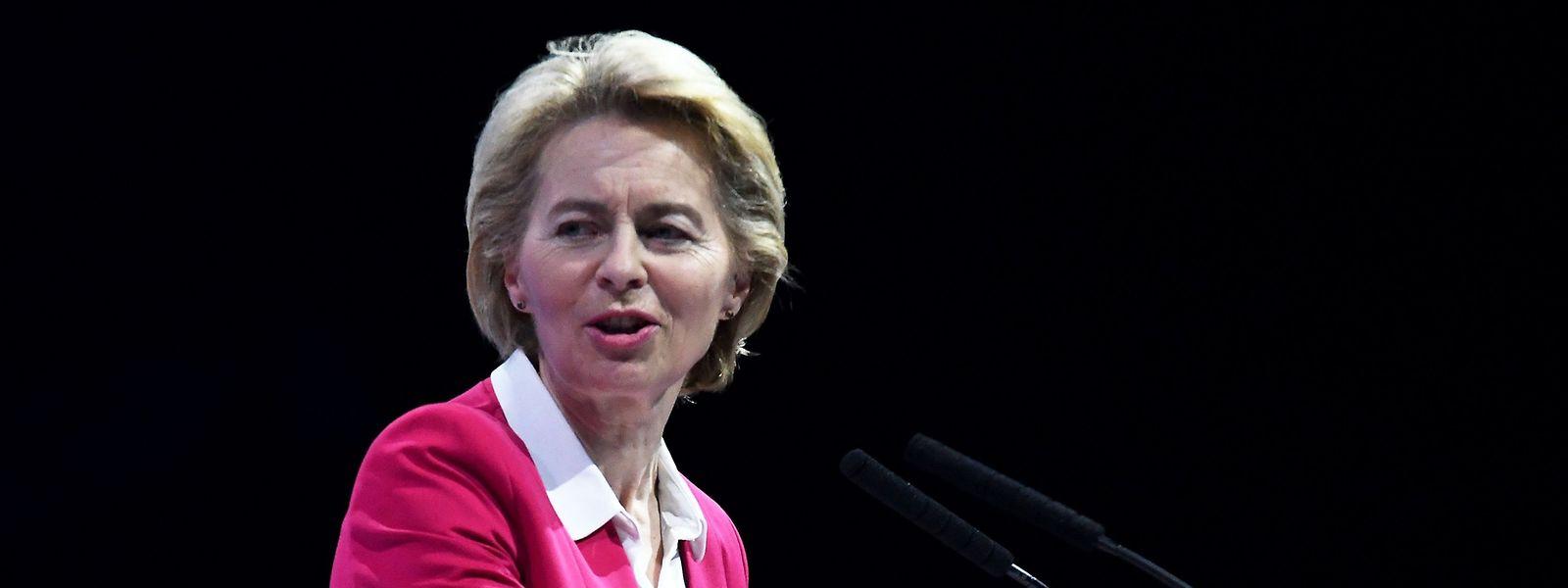 Ursula von der Leyen va pouvoir évaluer le poids de ses soutiens au début de son mandat de cinq ans.