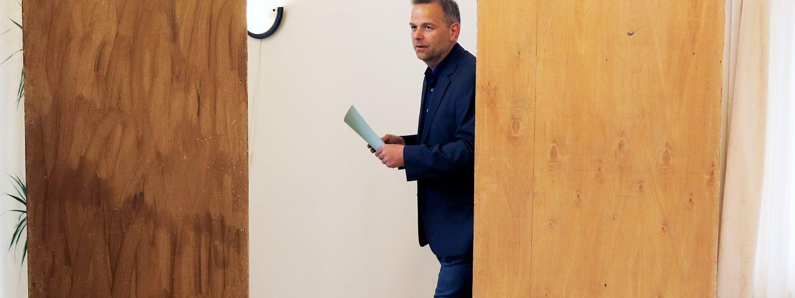 Leif-Erik Holm der AfD hat gewählt.