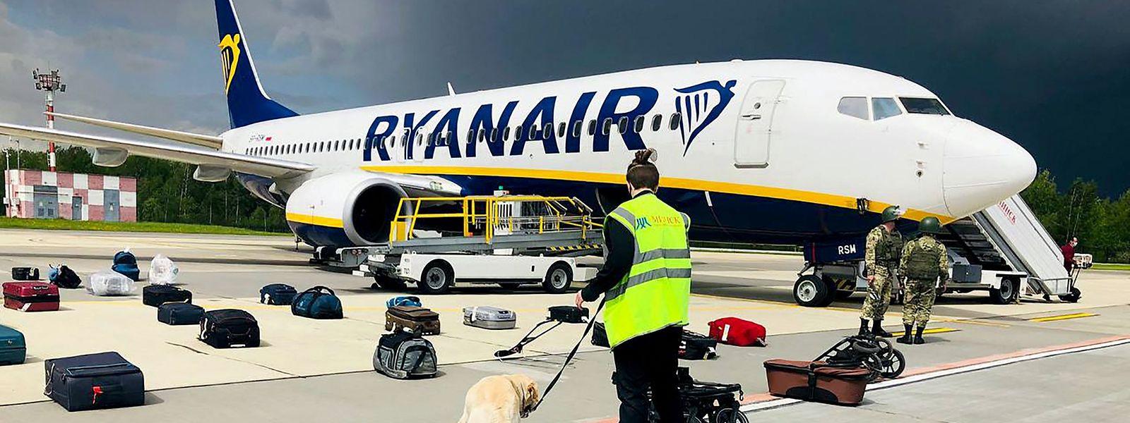 Die Behörden der autoritär regierten Republik hatten am Sonntag ein Flugzeug auf dem Weg von Athen nach Vilnius zur Landung gezwungen.