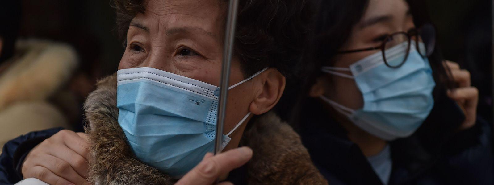 """In China fürchtet man sich zunehmend vor """"importierten Corona-Fällen""""."""