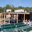 In Findel wird ein neues Übernachtungszentrum für die Winteraktion gebaut und eine Unterkunft für Personen, die vorübergehend in Not geraten sind.