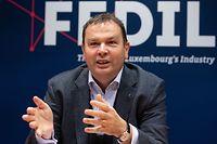 Wirtschaft, Rückblick und Ausblick 2021, Fedil, René Winkin, Foto: Chris Karaba/Luxemburger Wort