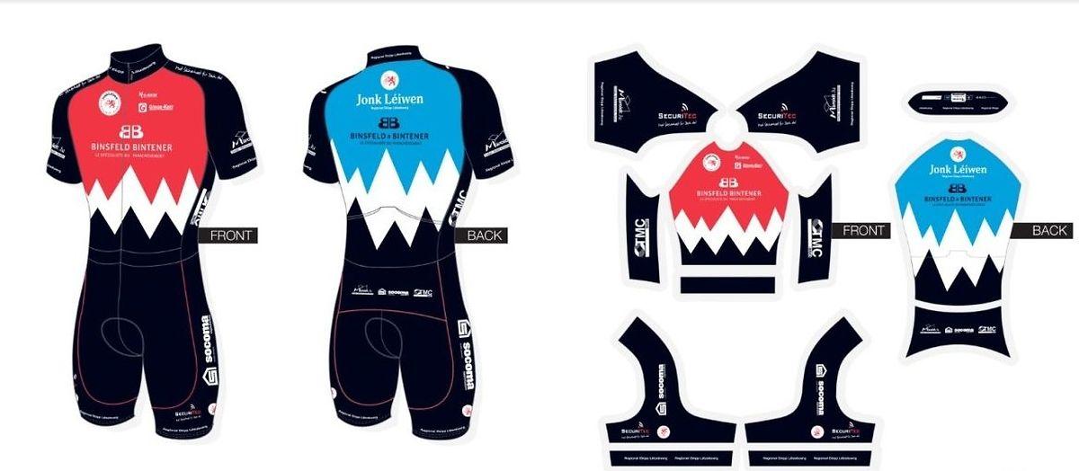 L'équipe régionale luxembourgeoise arborera de tout nouveaux maillots en 2019