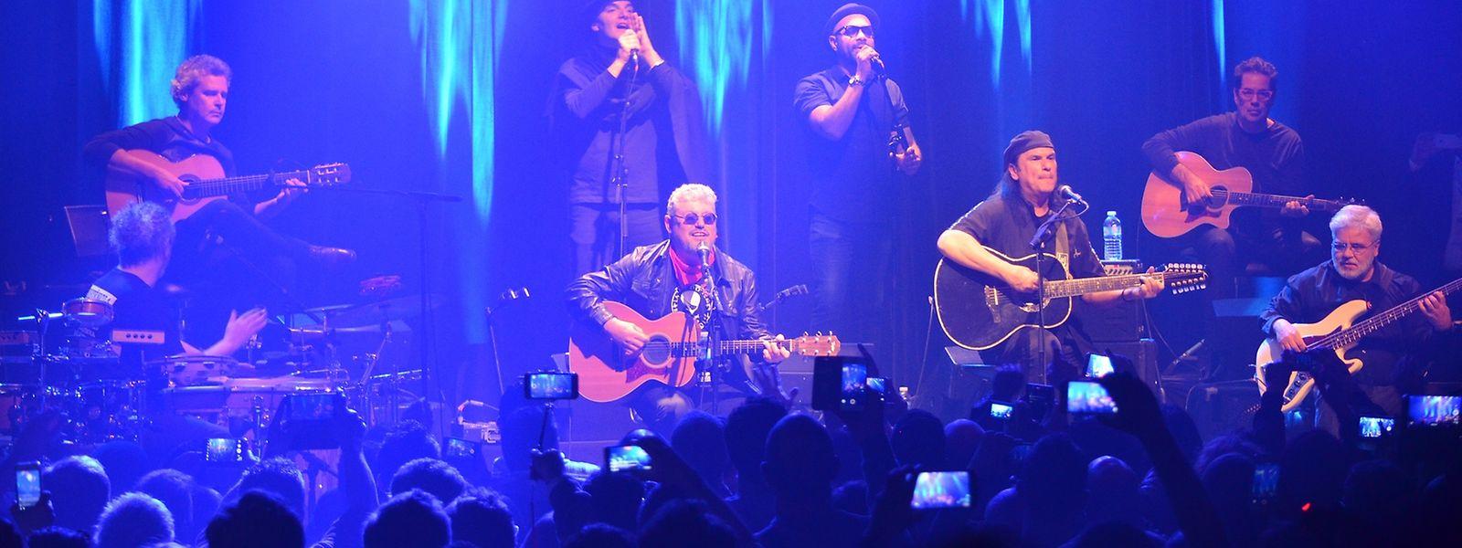 Os resistência em concerto no Bataclan