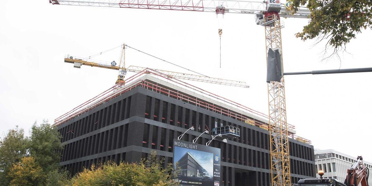 """Kommt die EBA nach Luxemburg, könnte sie in das """"Moonlight""""-Gebäude an der Route d'Arlon einziehen."""