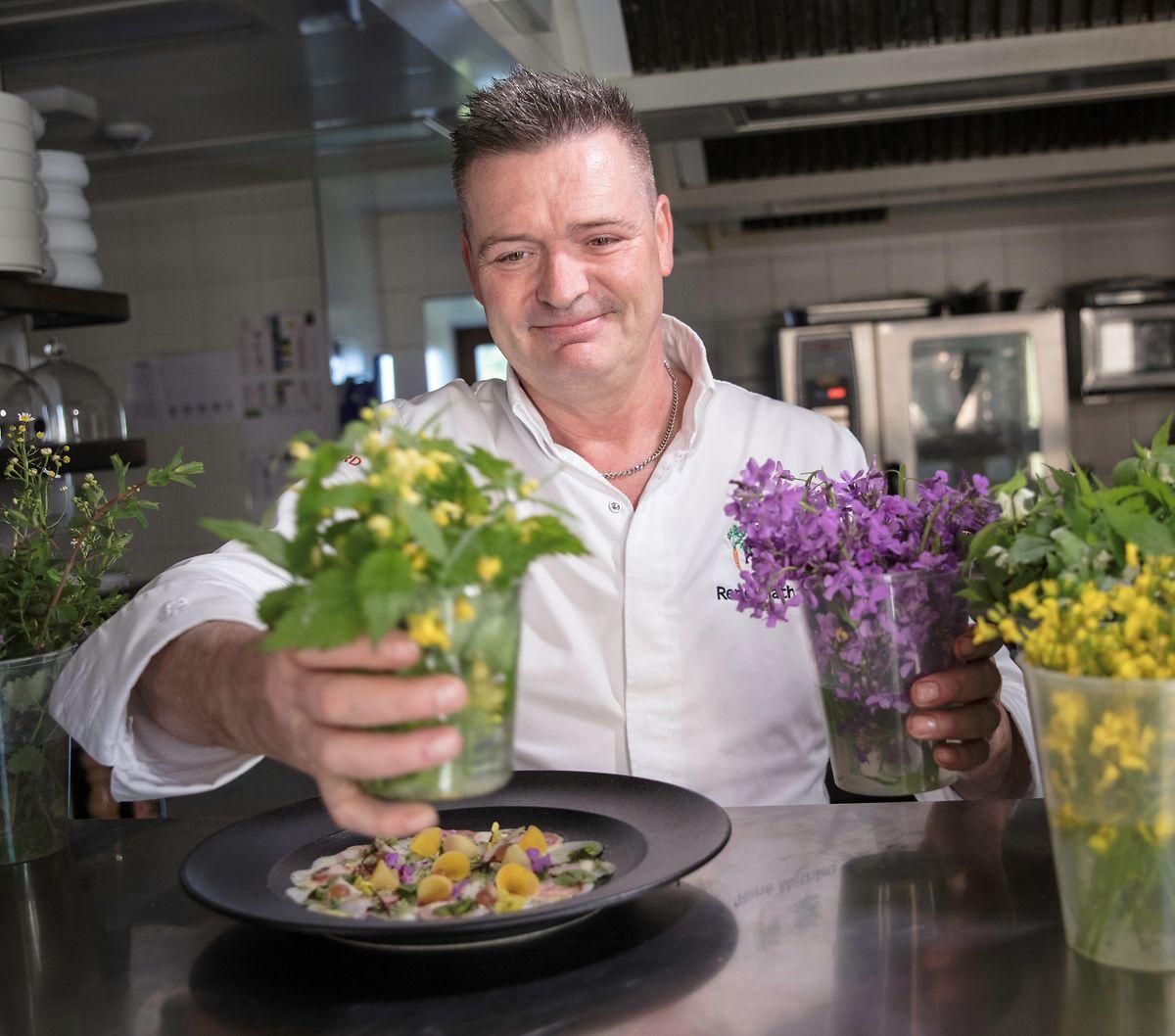 """Unter den luxemburgischen Restaurants schneidet die Küche der """"Distillerie"""" unter René Mathieu am besten im grünen Gastroguide ab."""