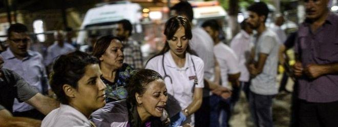 Viele Tote und Verletzte forderte der Anschlag, der mutmaßlich auf das Konto des IS geht.