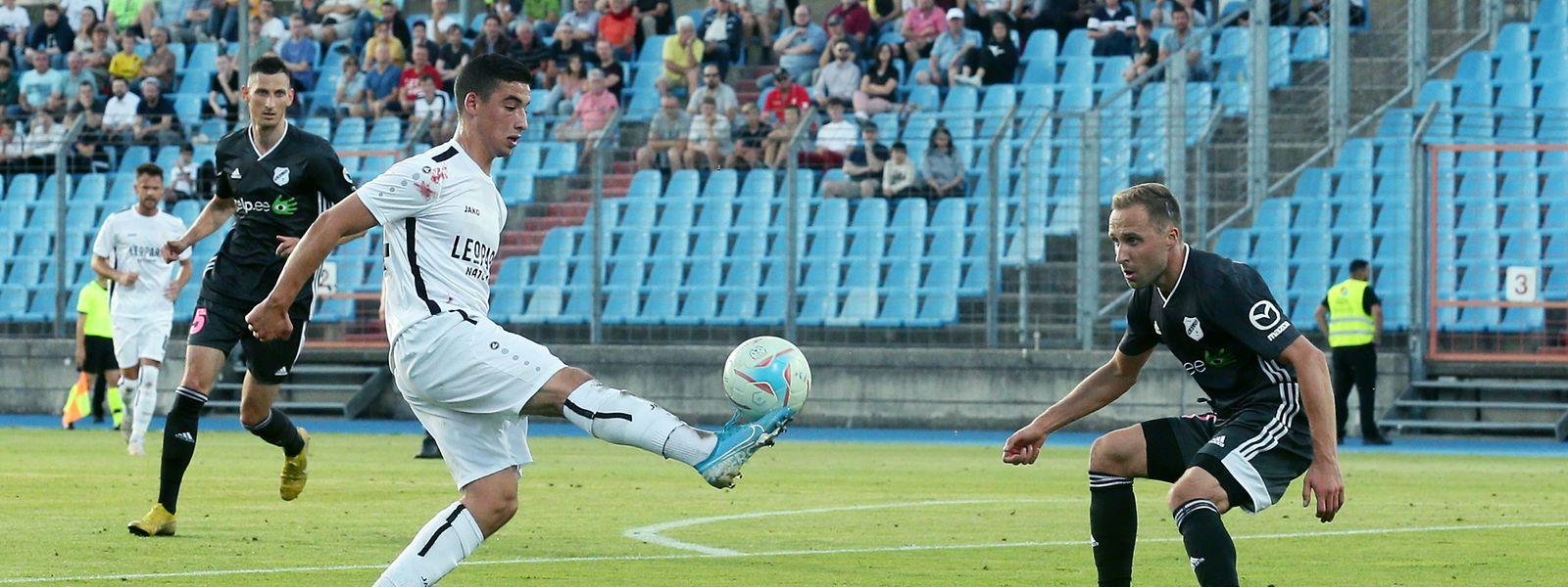 Mohammed Bouchouari et les Dudelangeois sont en excellente position pour se qualifier avant le match retour ce mardi à Tallinn.
