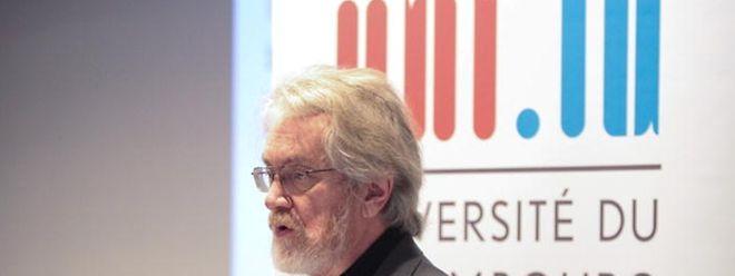 Le professeur Sandy Pentland a proposé différentes pistes de développement des FinTech au Luxembourg comme la personnalisation poussée du private banking