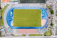 Lokales,Stade Josy Barthel.Route d'Arlon.Fussballstadion. Foto: Gerry Huberty/Luxemburger Wort