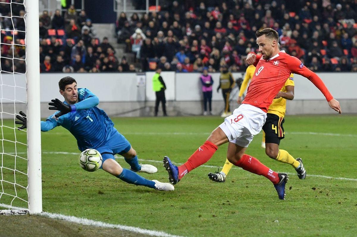 La Suisse était pourtant mal embarquée, mais Haris Seferovic a remis la Suisse sur la voie du succès.