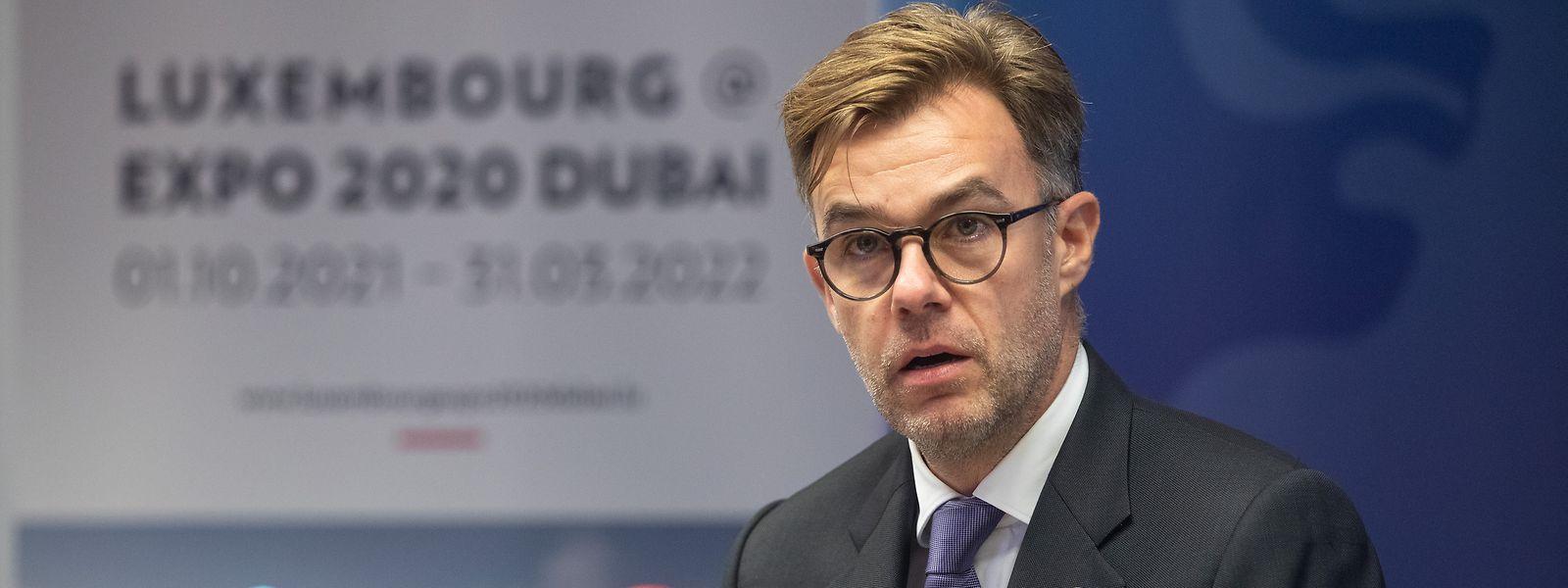 Le ministre de l'Economie s'est réjoui de cette proposition, permettant au pavillon luxembourgeois de perdurer dans le temps.