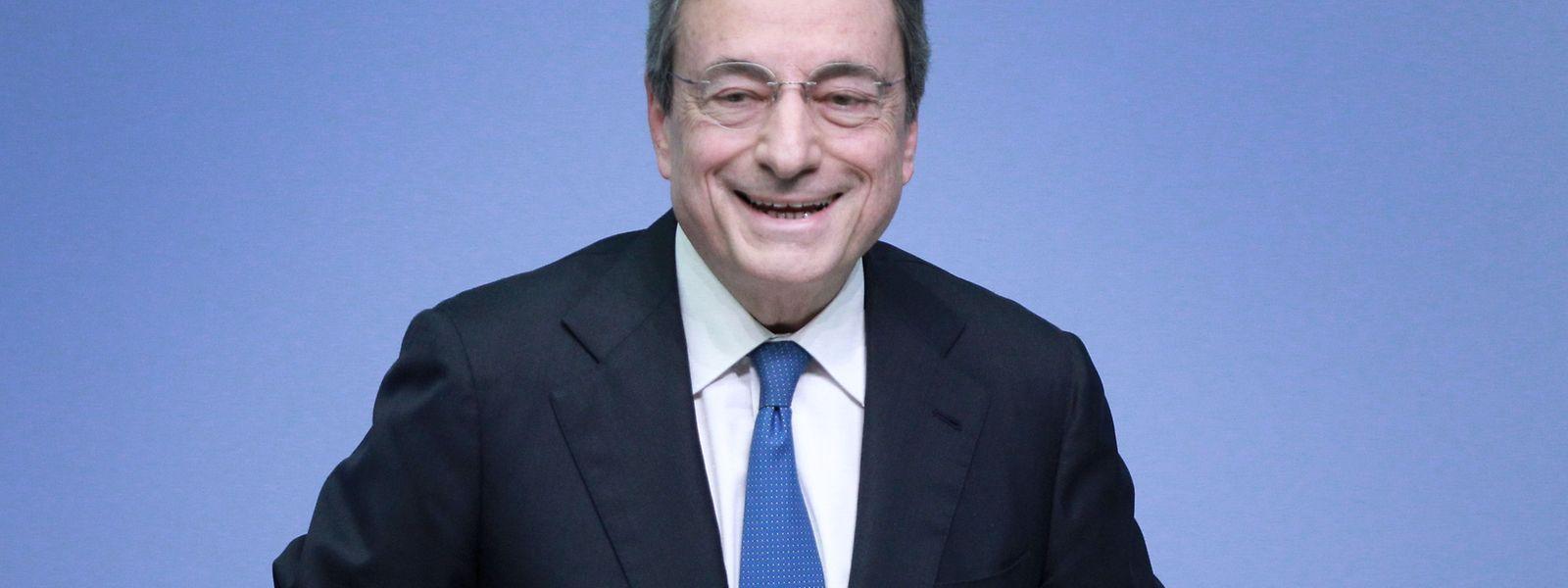Mario Draghi presidiu, pela última vez, a uma reunião do Banco Central Europeu.