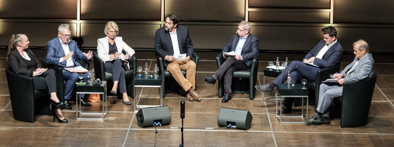 Les têtes de liste de la circonscription Est ont débattu le 18 septembre à Echternach