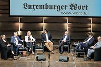 Diskussiounsronn LW Spëtzekandidaten (Runde 1, Echternach) / Foto: Viktor WITTAL