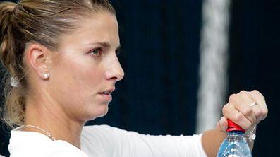 Mandy Minella (LUX - Luxemburg) Portrait / Tennis, Frauen, 2013 / 13.10.2013 /WTA, BGL BNP Paribas Open Luxembourg - Training Mandy Minella / Kockelscheuer, Luxemburg /Foto: Ben Majerus