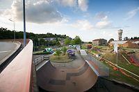 Skatepark Dudelingen, Foto Lex Kleren