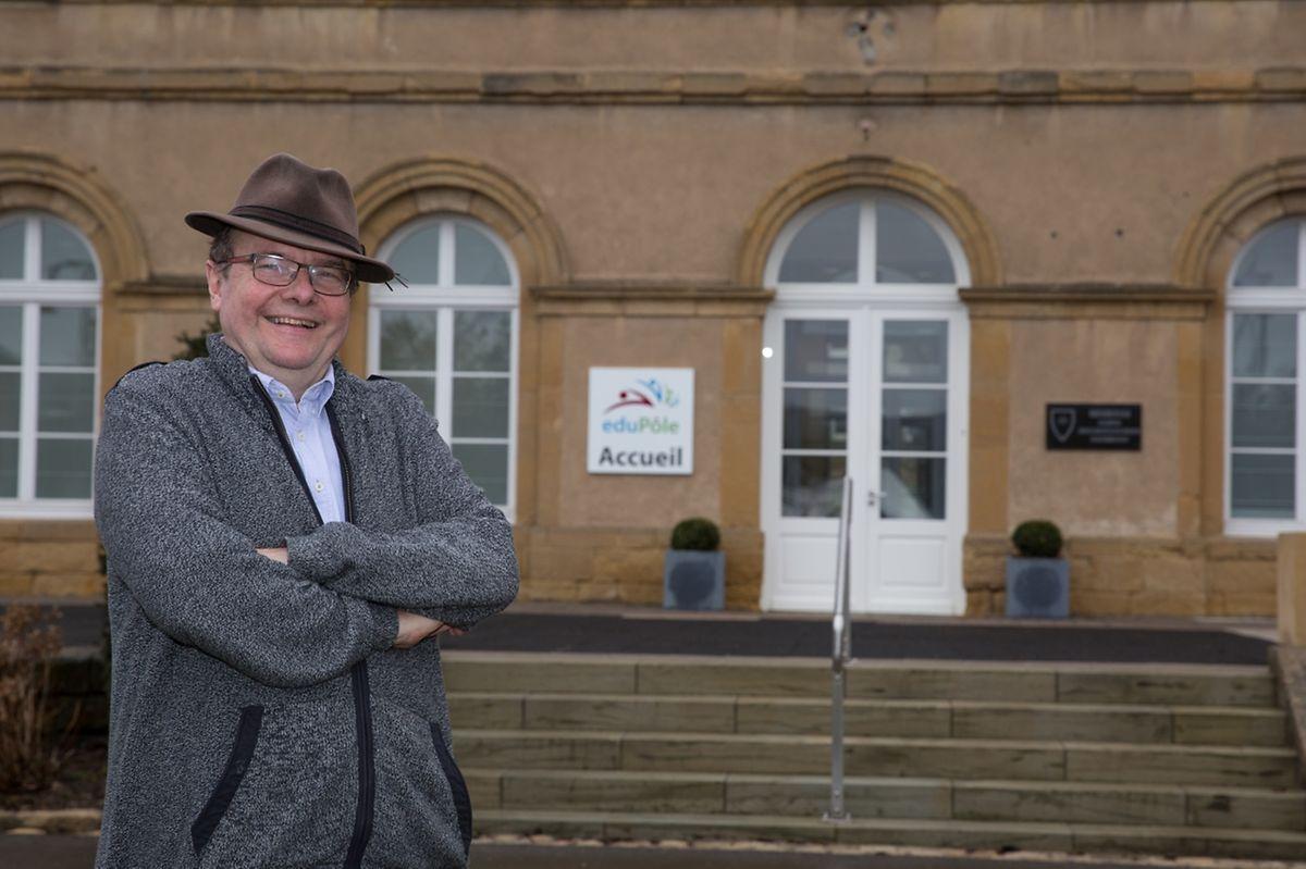 Marc Barthelemy travaille au Pôle ressources de l'Education nationale à Walferdange.