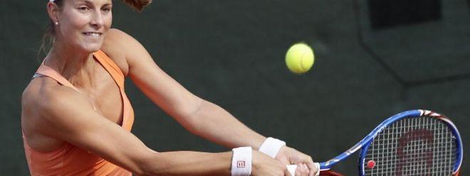 Mandy Minella a subi la loi de Yaroslava Shvedova lundi sur le court n°10 de Roland Garros.