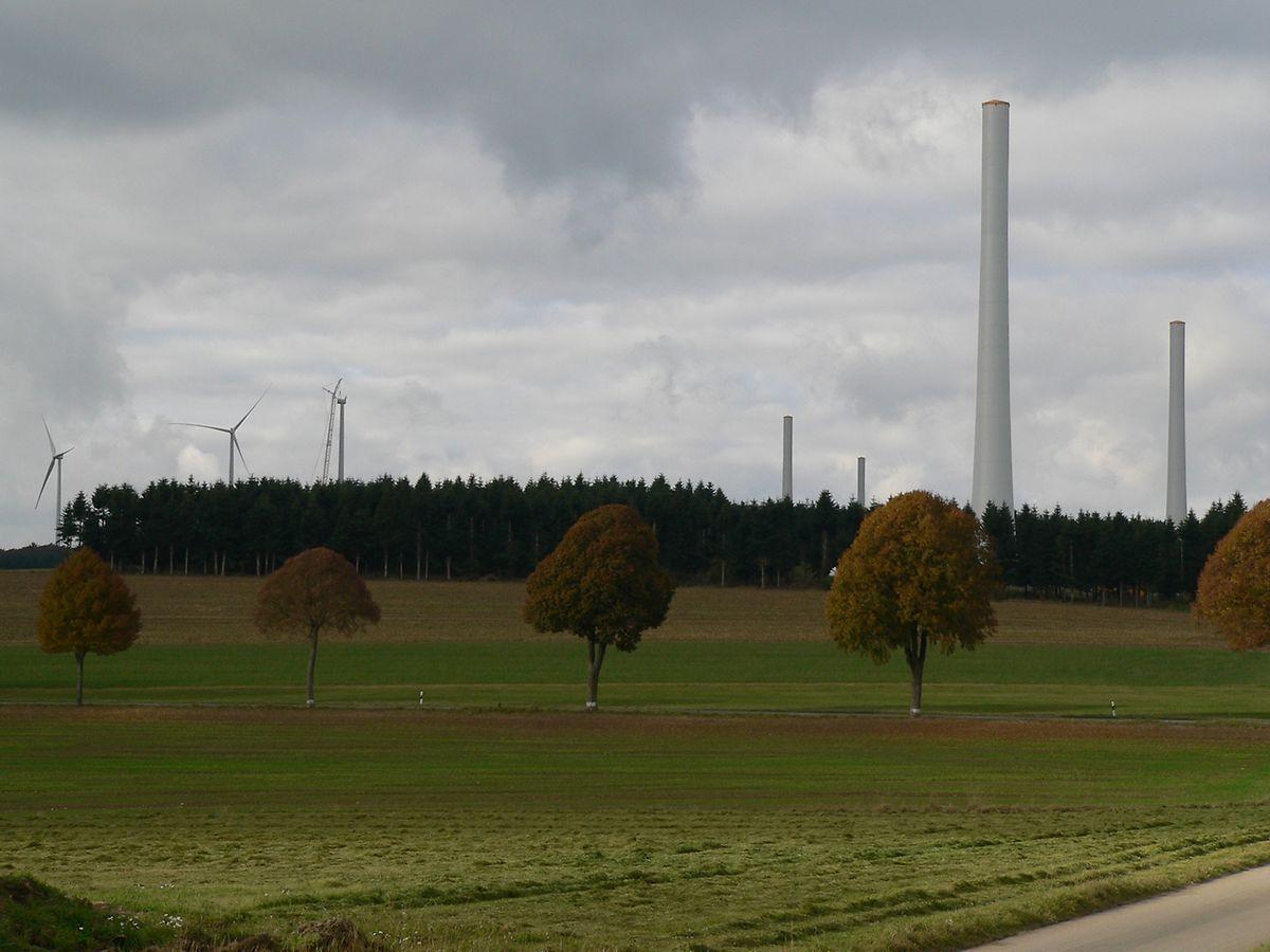 Rund um Weiler wächst derzeit Luxemburgs leistungsstärkster Windpark heran.
