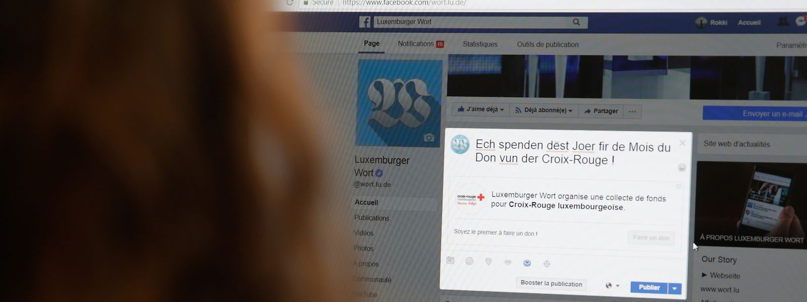 Facebook-Nutzer können auf ihrer Seite Freunde zum Spenden auffordern. Die Fundraising-Technik des Social-Media-Giganten ermöglicht es, durch einen simplen Klick, anderen Menschen zu helfen.