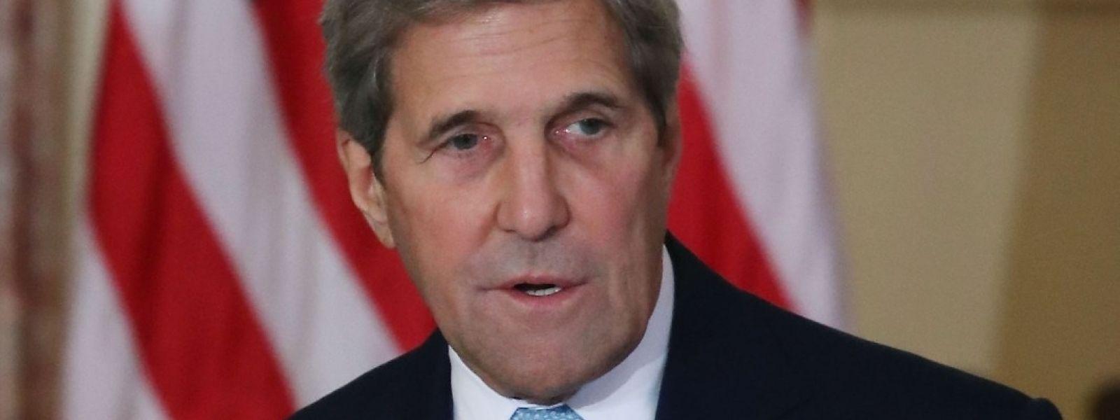 """US-Klima-Sonderbeauftragter John Kerry: """"Die Vereinigten Staaten und jedes Land müssen sich bis 2050 einem Weg in Richtung keiner neuen Emissionen verpflichten"""""""