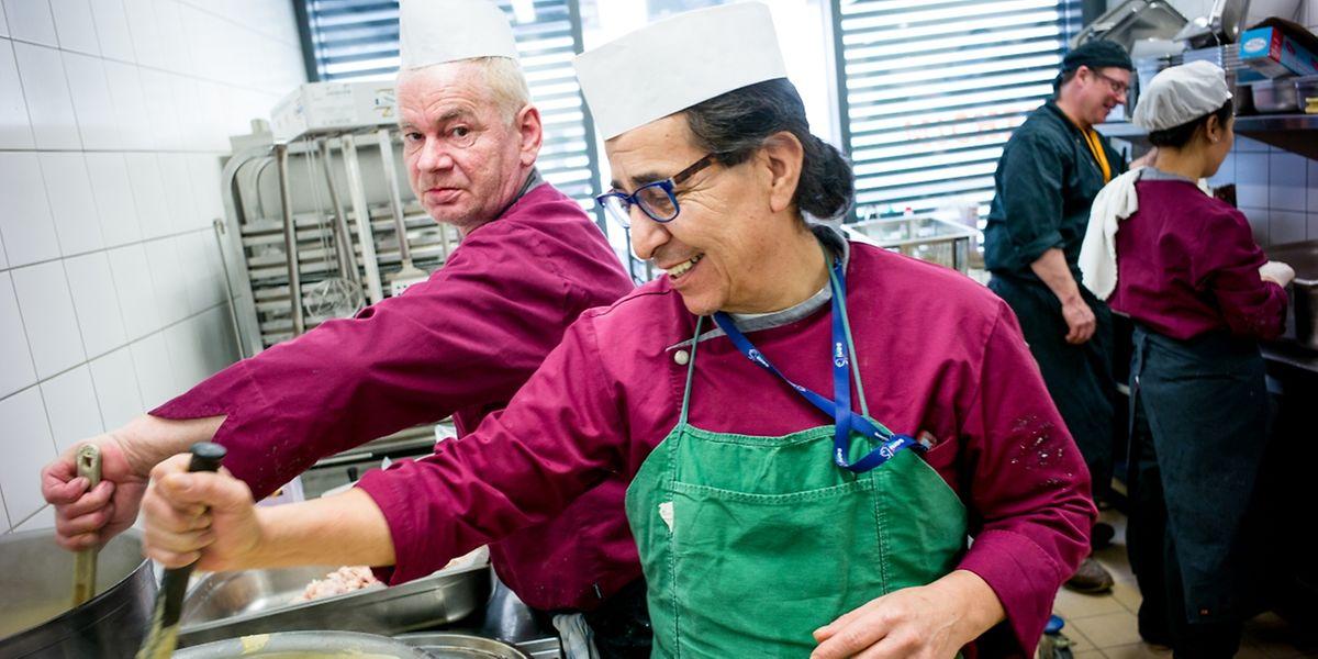 Au restaurant social de Hollerich, 158 repas sont servis chaque midi