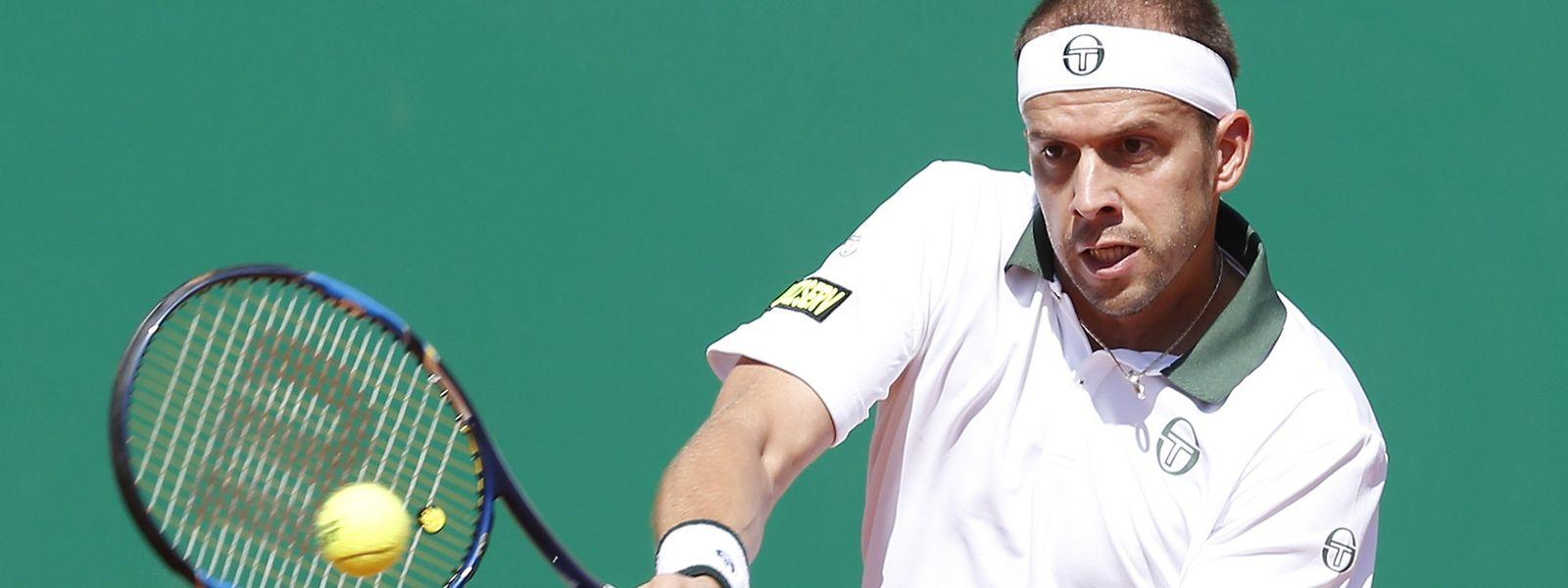 Gilles Muller bekommt es mit dem Weltranglistenersten zu tun.