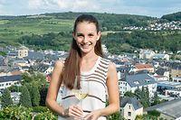 Die neue Weinbotschafterin Lee Risch ist glücklich, dass das Trauben- und Weinfest trotz Corona stattfinden kann.