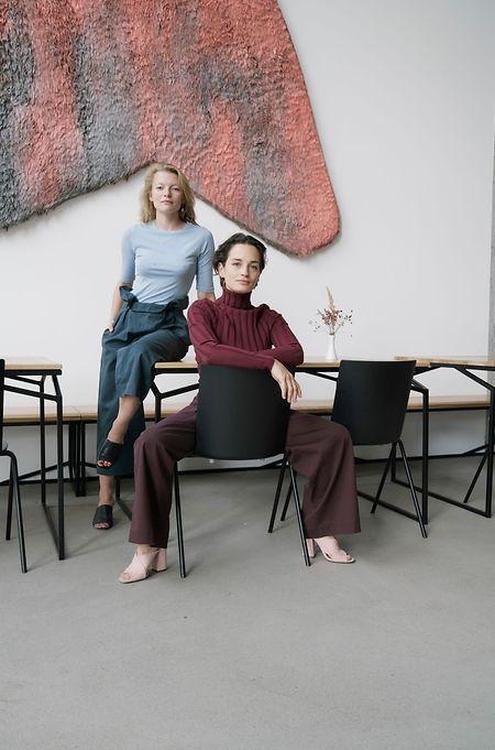 Cäcilia Baldszus (l.) und Jessica-Joyce Sidon haben gemeinsam das Restaurant Baldon in Berlin gegründet.