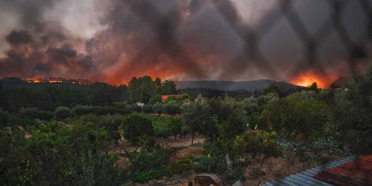 Há 88 fogos ativos em Portugal