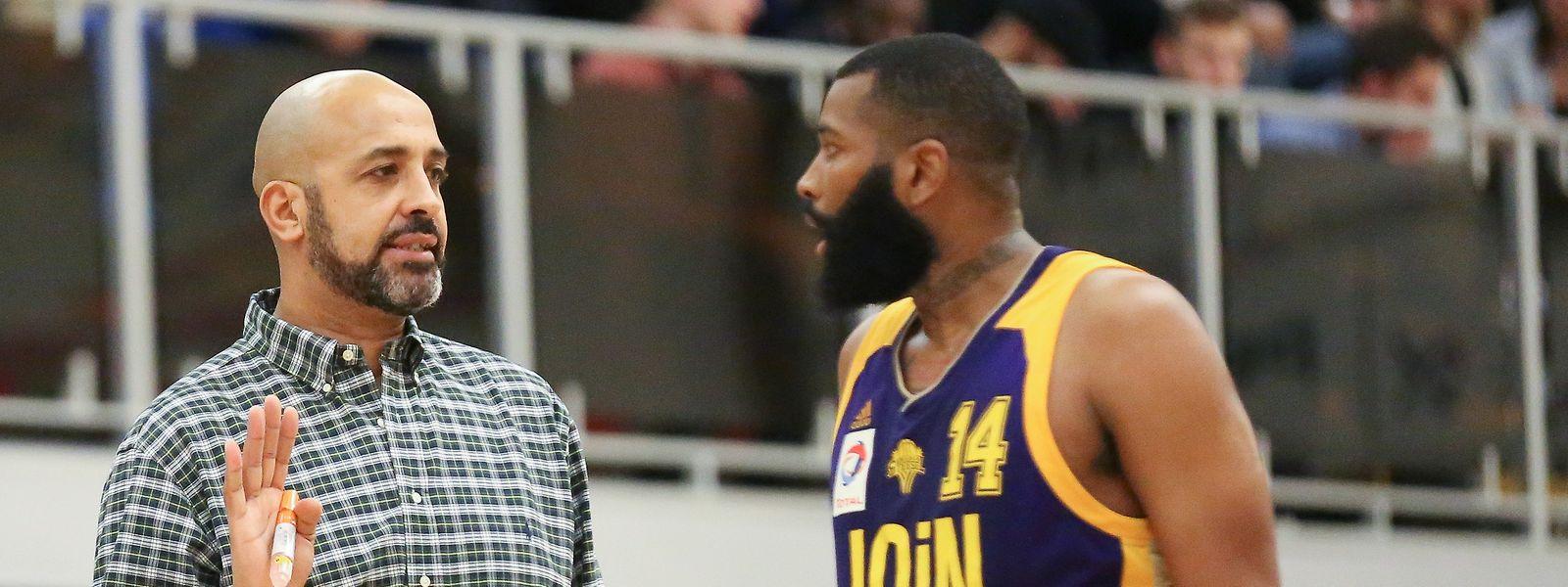 Trainer Alexandre Pires und Amicale waren mit Lamar Roberson unzufrieden.