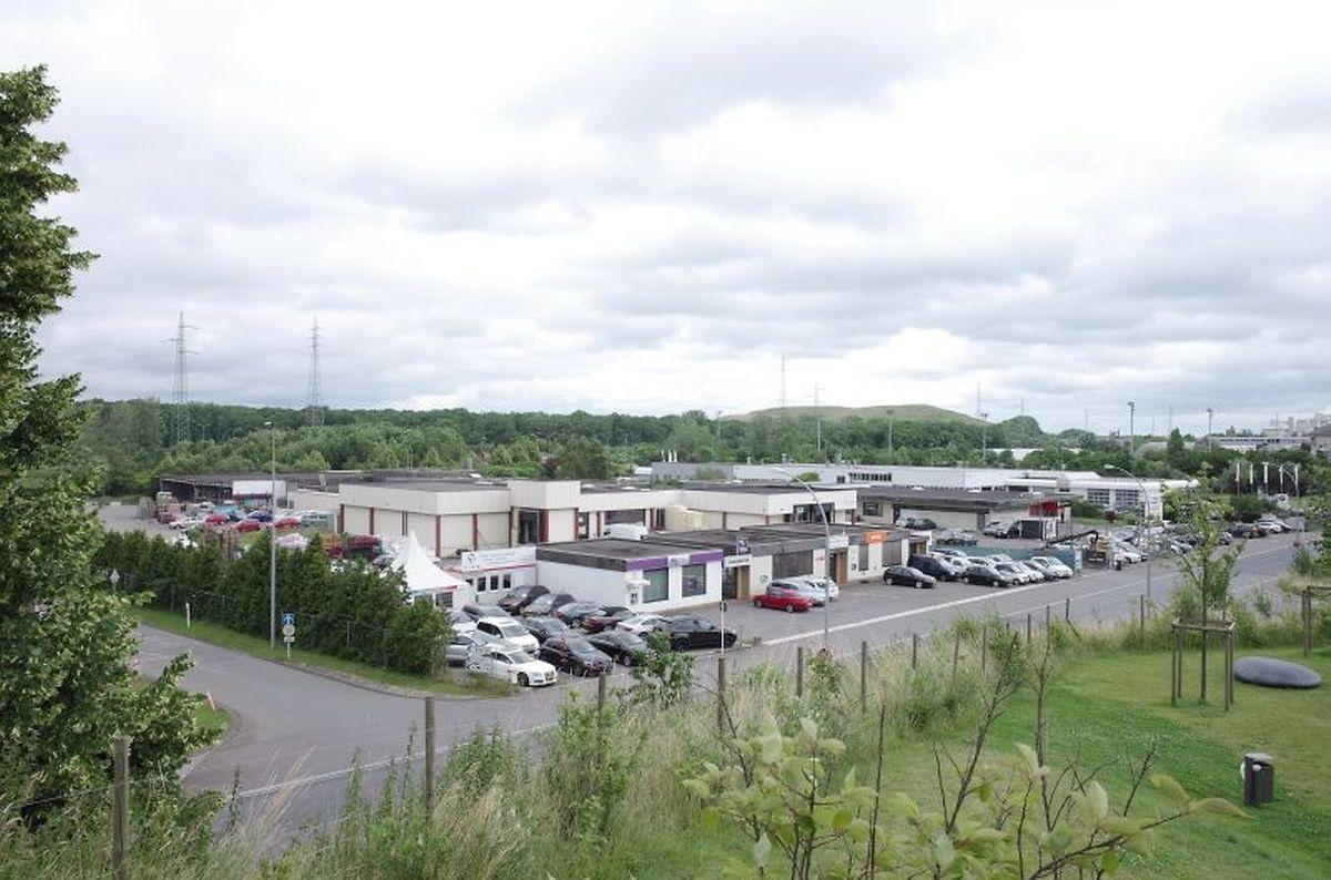 Heute befindet sich auf dem Areal unter anderem das alte Schlachthaus, sowie ein BMW-Autohaus.