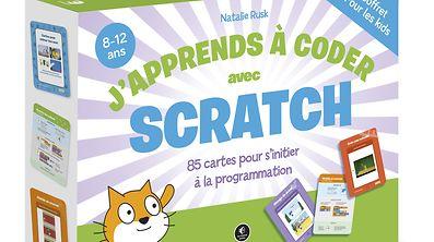 """Le coffret """"J'apprends à coder avec Scratch"""" est commercialisé 22,90 euros."""
