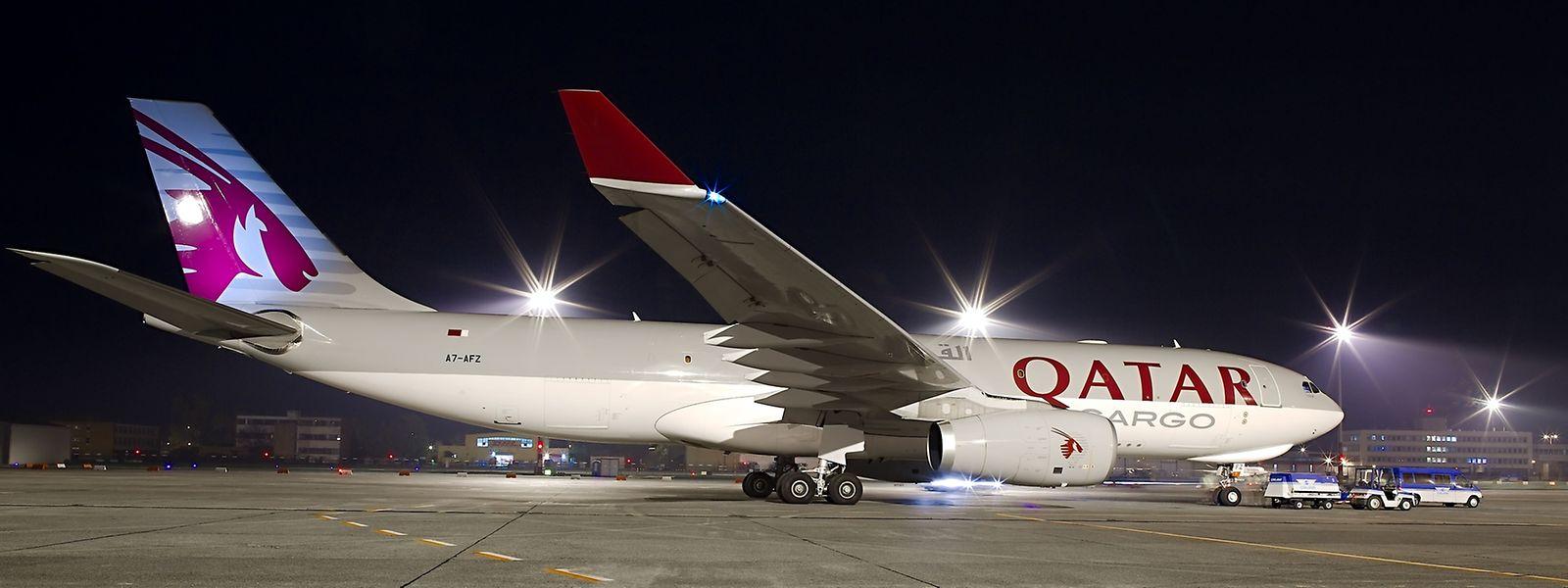 Qatar Airways Cargo ist schon seit fünf Jahren in Luxemburg aktiv.