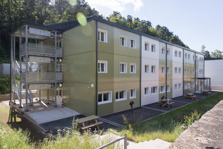 Im August werden voraussichtlich die ersten Asylbewerber im Flüchtlingsheim am Quai Neudorf in Esch/Alzette einziehen.