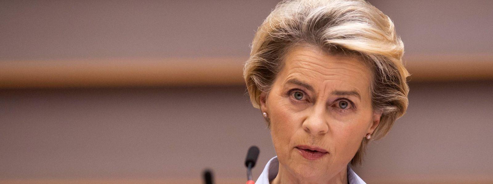 «Commençons donc aussi tôt que possible cette (campagne) de vaccination tous ensemble à vingt-sept, avec un début le même jour», annonce mercredi Ursula von der Leyen.