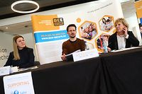Lokales,Safer Internet Day,Judith Swietlik,Jeff Kaufmann,Barbara Gorges,.Foto: Gerry Huberty/Luxemburger Wort