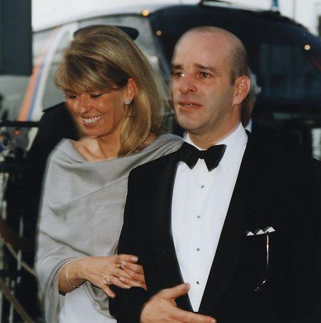 Luis Mestre, Bruder von Großherzogin Maria Teresa, mit seiner Frau bei einem Konzert im Jahr 2001.