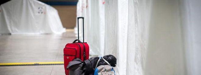In Halle 6 sollen künftig nur noch Menschen untergebracht werden, die kein Recht auf Asyl in Luxemburg haben.