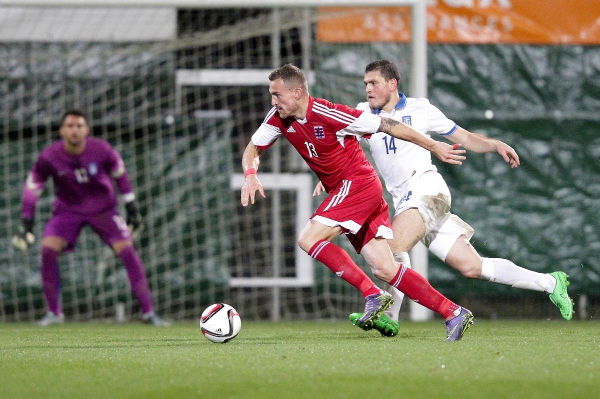 Aurelien Joachim a inscrit face à la Grèce son 7e but sous le maillot de l'équipe nationale.