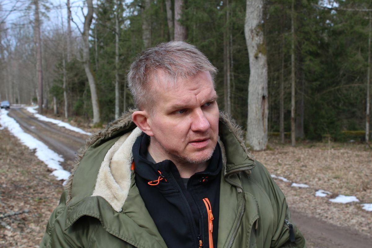 Le biologiste Adam Bohdan.