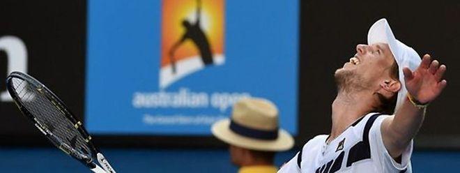 O italiano Andreas Seppi (na foto), 46° mundial, eliminou hoje o n°2 mundial, Roger Federer