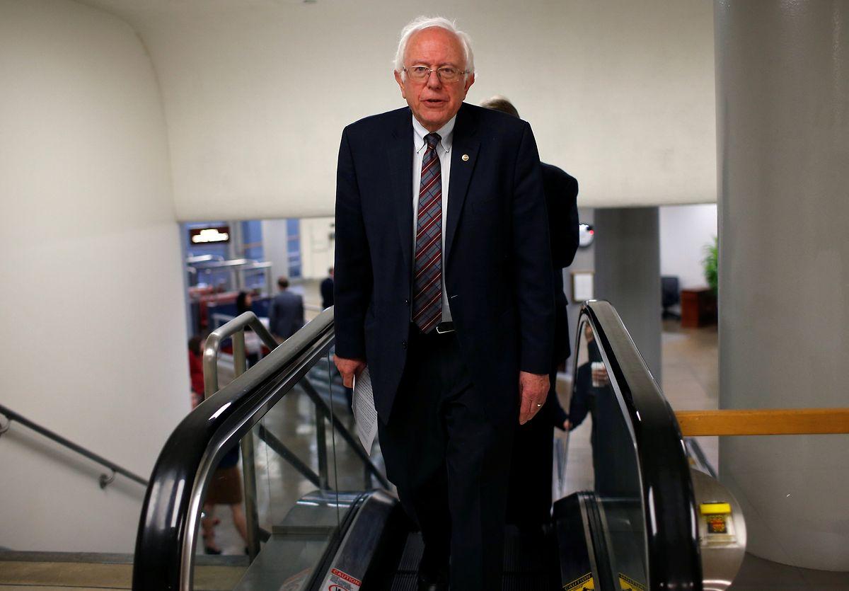 Bernie Sanders nennt sich selbst einen demokratischen Sozialisten.