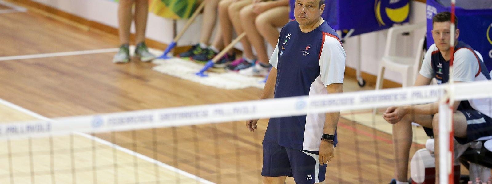Detlev Schönberg war seit 2011 Nationaltrainer der Volleyballfrauen Luxemburgs.